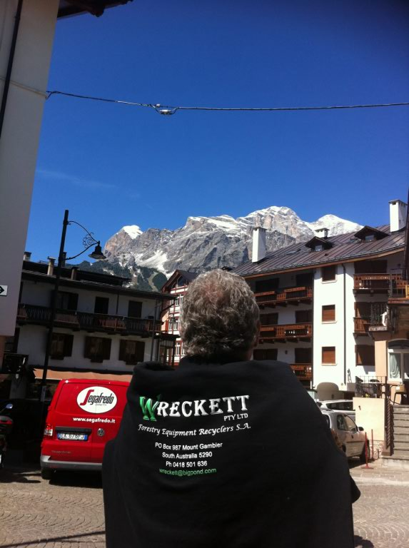 Austrian Alps. Dolomites